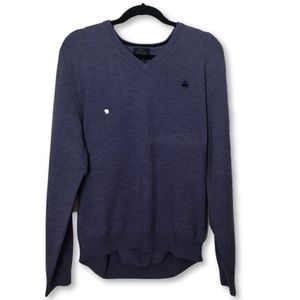 NEW Brooks Brothers Mens Merino Wool Blend Sweater